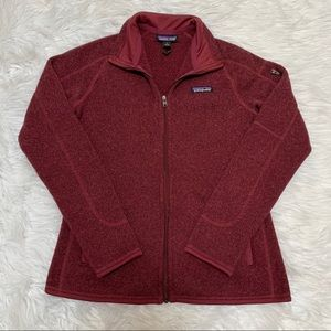 Patagonia Better Sweater Jacket Burgundy Small